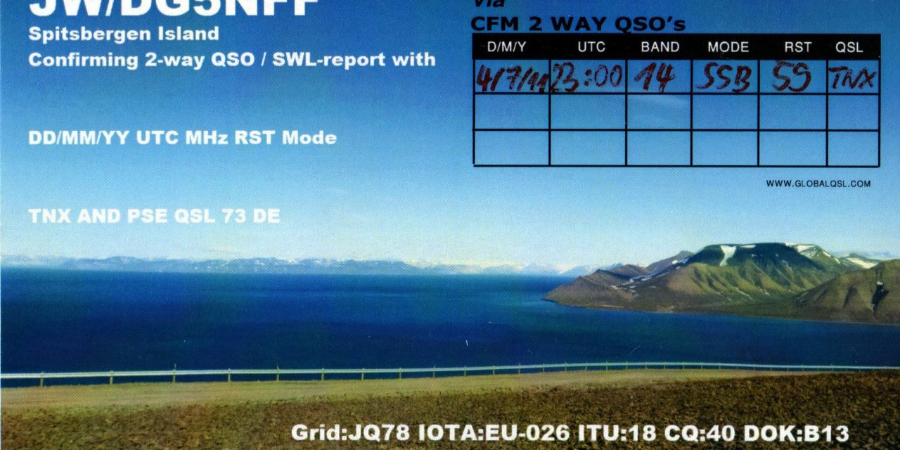 QSL with DG5NFF