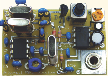 A UNIVERSAL DIRECT CONVERSION RECEIVER FOR PSK-31